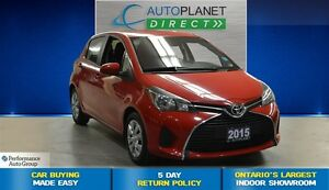 2015 Toyota Yaris LE, Ontario Vehicle, Bluetooth, $46/Wk!