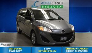 2015 Mazda MAZDA5 GS, Clean Carproof, Keyless, $56/Wk!