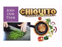 Line chefs required for new opening in East Kilbride