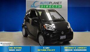 2015 smart fortwo pure, Clean Carproof, Navi, $25/Wk!