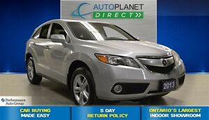 2013 Acura RDX AWD Tech Pkg, Navi, Sunroof, $112/Wk!