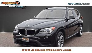 2015 BMW X1 xDrive28i LEATHER|PANOROOF|POWER SEAT|CARPROOF CLEAN