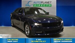 2016 Dodge Charger SXT, Navi, Sunroof, Bluetooth, $92/Wk!
