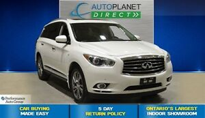 2015 Infiniti QX60 Deluxe Touring AWD, Navi, Back Up Cam, $142/W