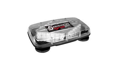 Sound-off Signal Mini Magnetic Led Lightbar Amber Leds