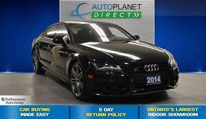 2014 Audi S7 Quattro, Heads Up Display, Navi, $256/Wk!