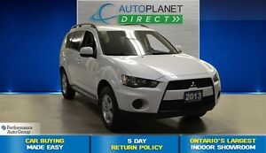2013 Mitsubishi Outlander ES, Alloys, Keyless, $61/Wk!