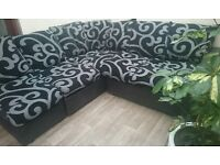 NEW LARGE DFS CORNER SOFA CAN DELIVER FREE
