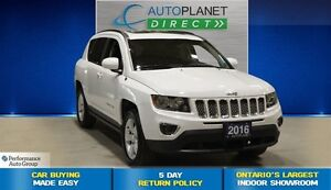 2016 Jeep Compass High Altitude AWD, Pano Roof, $81/Wk!