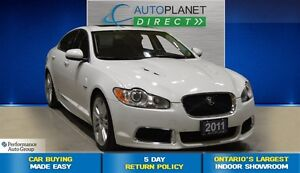 2011 Jaguar XF XFR Supercharged, Navi, Back Up Cam, $185/Wk!