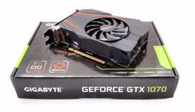 Gigabyte Geforce GTX 1070 Mini ITX
