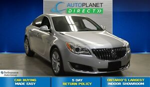 2015 Buick Regal AWD Turbo Premium, One Owner, Back Up Cam, $88/