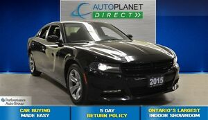 2015 Dodge Charger SXT | Ontario Vehicle | Bluetooth | $77/Wk!