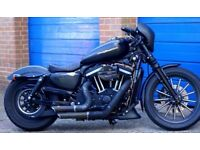 Harley Davidson Custom XL883N with bags of extras