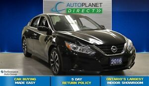 2016 Nissan Altima 2.5 SV, Back Up Cam, Sunroof, $60/Wk!