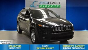 2015 Jeep Cherokee North 4X4, Bluetooth, Clean Carproof, $72/Wk!