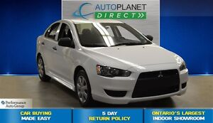 2014 Mitsubishi Lancer DE, CD Player, CLEAN CARPROOF, $52/Wk!