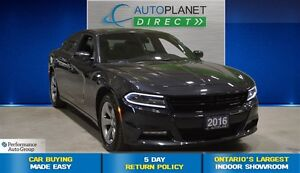 2016 Dodge Charger SXT, Navi, Sunroof, Bluetooth, $88/Wk!