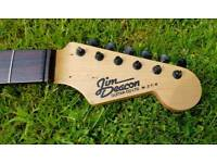 Strat Style 21 Fret Guitar Neck