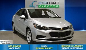 2017 Chevrolet Cruze LT, Back Up Cam, Bluetooth, Heated Seats, $