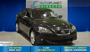 2013 Lexus IS 250 AWD, Navi, Sunroof, Back Up Cam, $117/Wk!