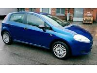 Fiat grande punto 56reg hpi clear 1year mot Cambelt changed