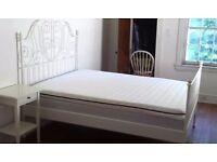 IKEA leirvik bed frame & slats