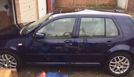 Volkswagen Golf V5 2001 needs repair only 60,000 miles on clock immac bodywork/interior