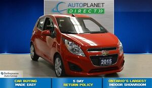 2015 Chevrolet Spark 1LT CVT, Ontario Vehicle, Keyless, $37/Wk!