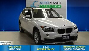 2015 BMW X1 xDrive28i Premium Pkg, Heated Seats, $90/Wk!