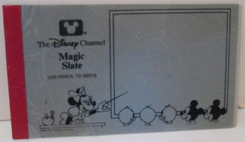 THE DISNEY CHANNEL PREMIUM MINI MAGIC SLATE MINNIE MOUSE AS TEACHER 1987