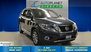 2015 Nissan Pathfinder SL + Bluetooth + Alloys + $117/Week!