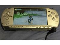 SONY PSP 2003 handheld console, Silver colour