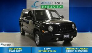 2015 Jeep Patriot North 4X4, Ontario Vehicle, Keyless, $59/Wk!