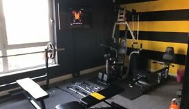 Full home gym with commercial grade equipment,previously a Personal training studios eauipment