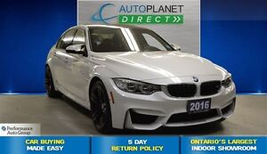 2016 BMW M3 Premium/Executive/Lights Pkgs, Navi, $235/Wk!