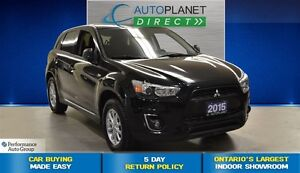 2015 Mitsubishi RVR SE, Ontario Vehicle, Bluetooth, $64/Wk!