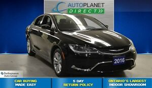 2016 Chrysler 200 Limited, CLEAN CARPROOF, Keyless, $58/Wk!