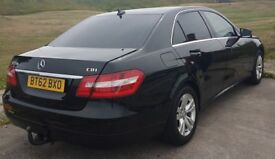 Mercedes- Benz E220 full leather