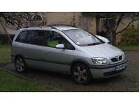 Vauxhall ZAFIRA Energy 2.0 DTI; MPV, 2004, Manual, 7 seats, 5 doors