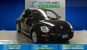 2010 Volkswagen New Beetle 2.5L Comfortline, Ontario Vehicle, Le