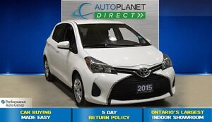 2015 Toyota Yaris LE, Clean Carproof, Bluetooth, $42/Wk!