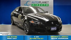 2013 Jaguar XF XFR Supercharged, Navi, Sunroof, $204/Wk!