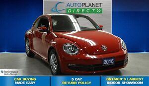 2016 Volkswagen Beetle 1.8 TSI Trendline, Sunroof, $61/Wk!