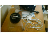 Blue Snowball Microphone in black