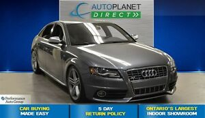 2012 Audi S4 3.0, Clean Carproof, Heated Seats, $161/Wk!