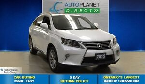 2015 Lexus RX 350 AWD, Tech Pkg, Navi, Heads Up Display, $145/Wk