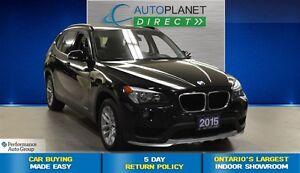 2015 BMW X1 xDrive28i Premium Pkg, Pano Roof, $90/Wk!