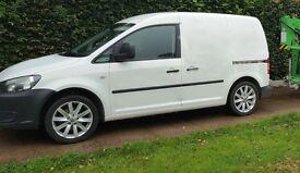 VW Caddy 1.6 TDI 102 - Very clean van