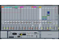 "Apple MacPro DAW Music Workstation + Dual 24"" Frameless IPS Monitors 32GB Ram SAS 4TB SHDD"